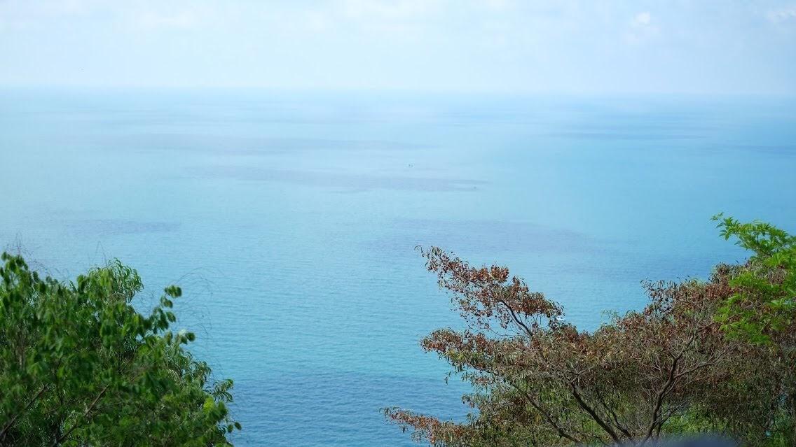 View biển từ trên cao tại đảo Hòn Sơn